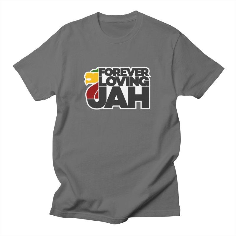 Forever Loving Jah Men's T-Shirt by Rasta University Shop