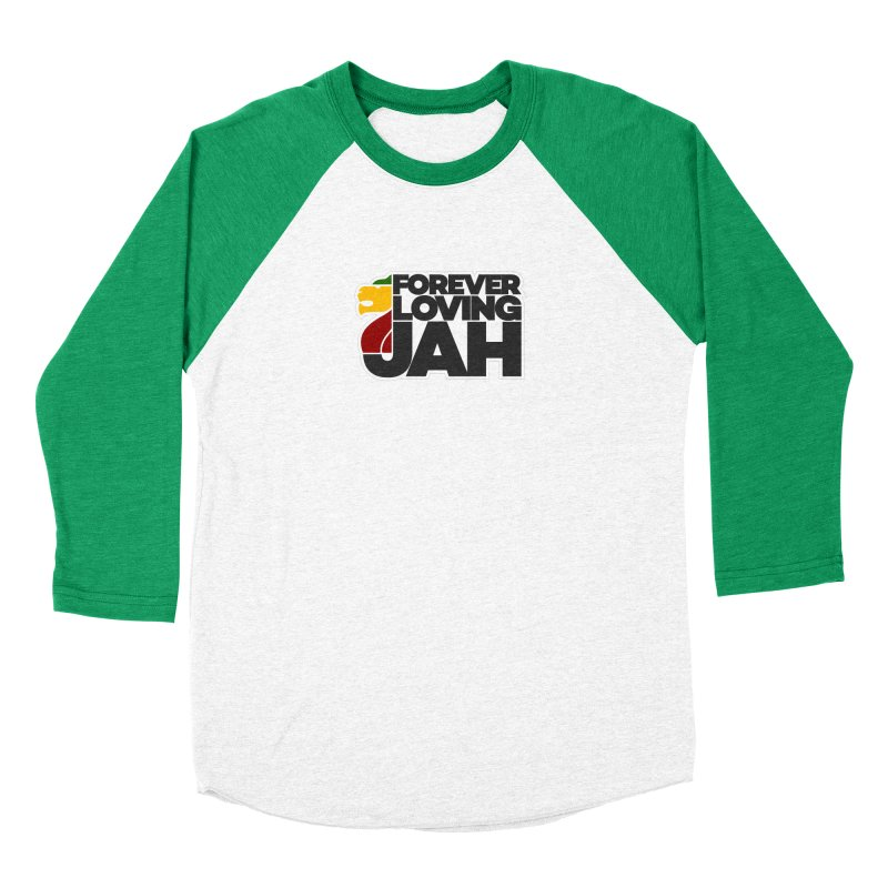 Forever Loving Jah Women's Baseball Triblend Longsleeve T-Shirt by Rasta University Shop