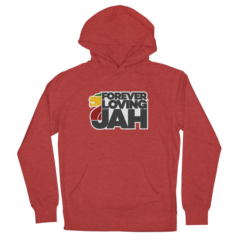 Forever Loving Jah Women's French Terry Pullover Hoody by Rasta University Shop