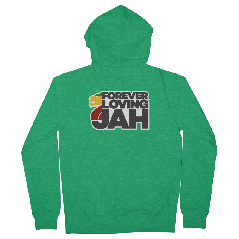 Forever Loving Jah Women's Zip-Up Hoody by Rasta University Shop