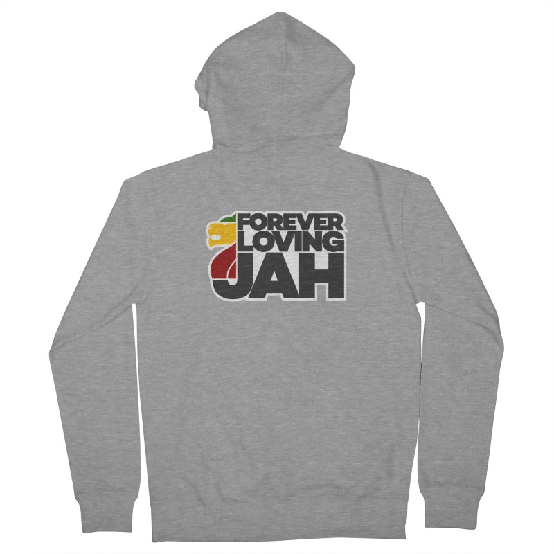 Forever Loving Jah Women's French Terry Zip-Up Hoody by Rasta University Shop