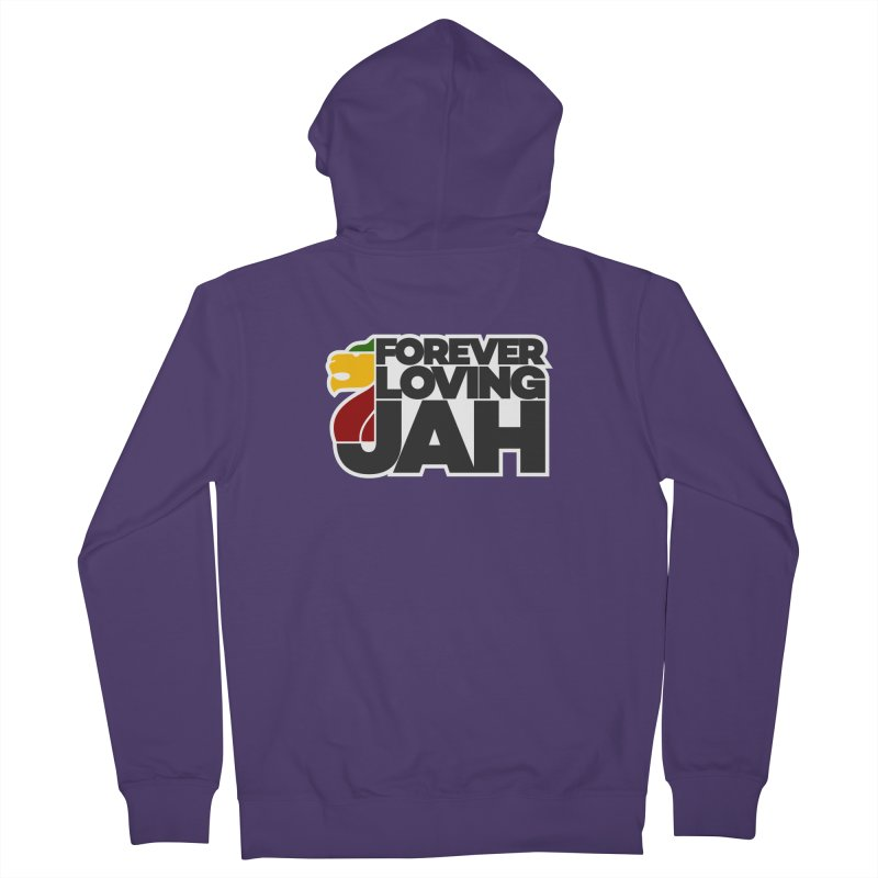 Forever Loving Jah Women's Zip-Up Hoody by Rasta University Shop