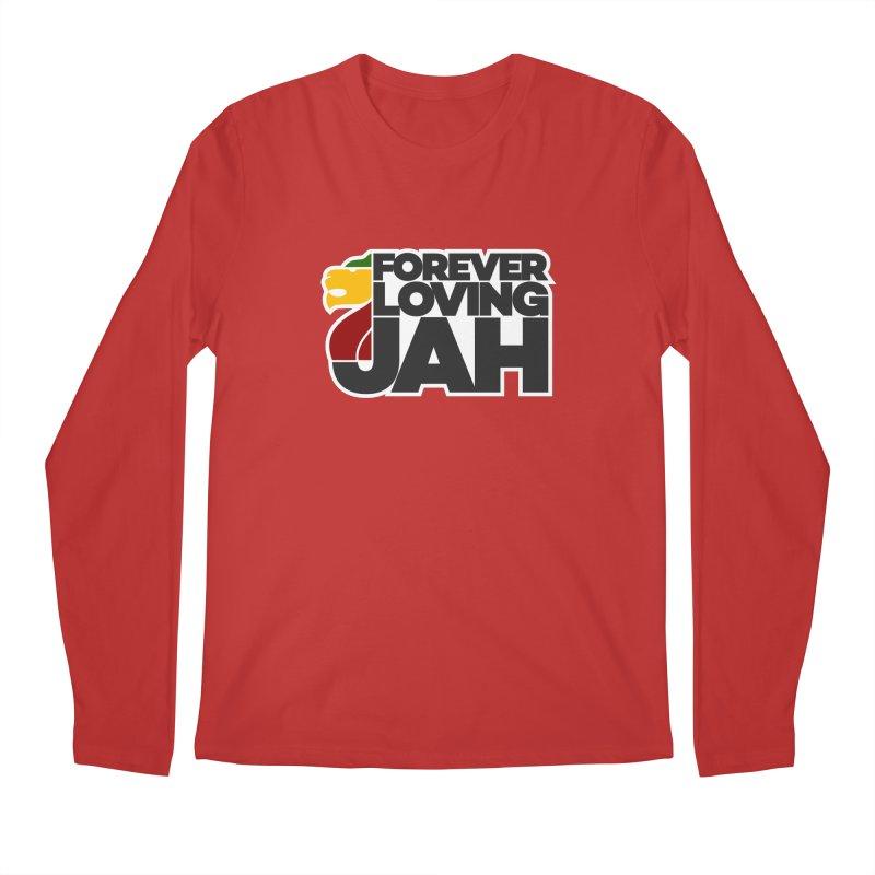 Forever Loving Jah Men's Regular Longsleeve T-Shirt by Rasta University Shop