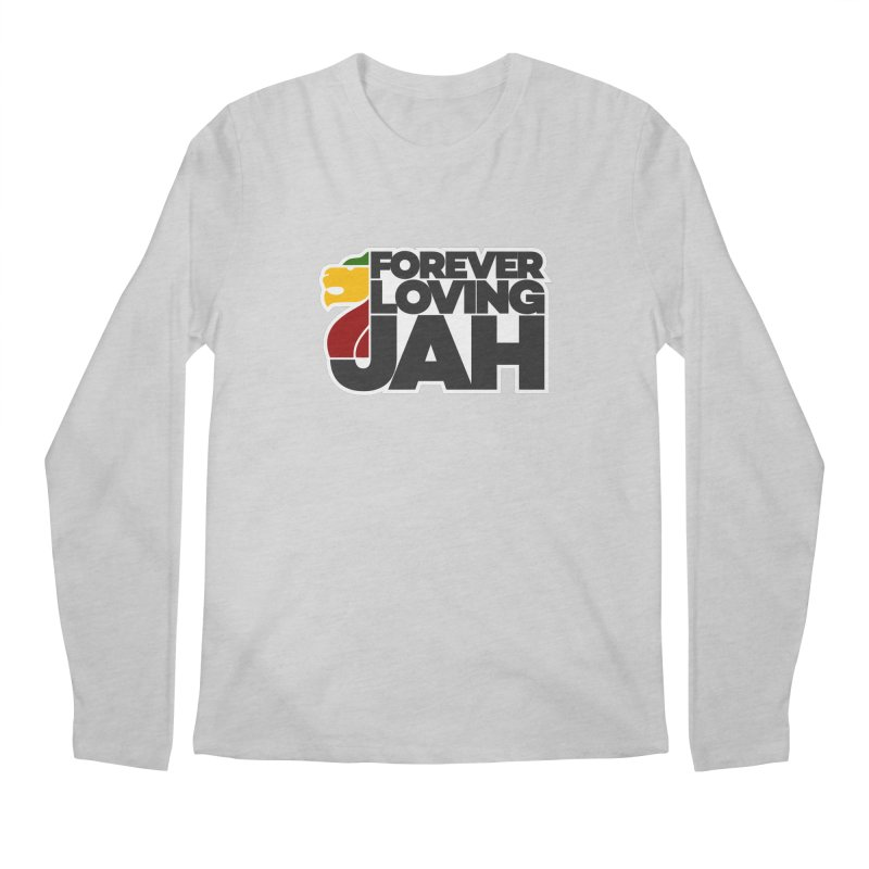 Forever Loving Jah Men's Longsleeve T-Shirt by Rasta University Shop
