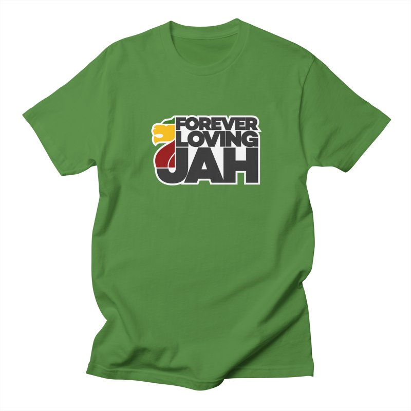 Forever Loving Jah Women's Regular Unisex T-Shirt by Rasta University Shop