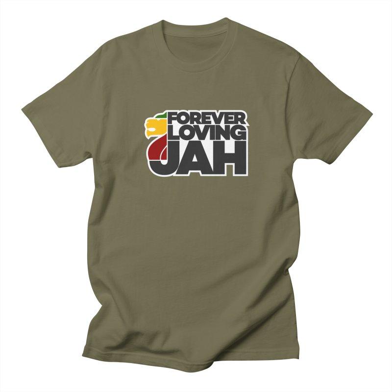 Forever Loving Jah Men's Regular T-Shirt by Rasta University Shop