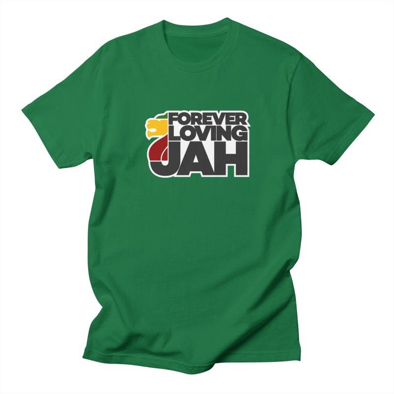 Forever Loving Jah Women's Regular Unisex T-Shirt by Rasta University Shop
