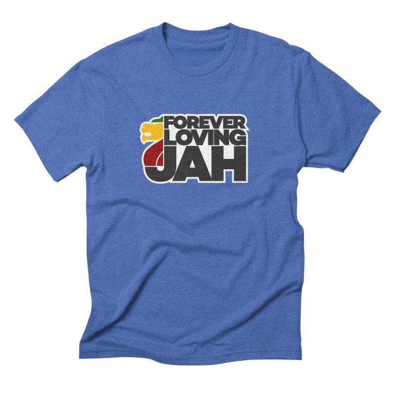 Forever Loving Jah Men's Triblend T-shirt by Rasta University Shop