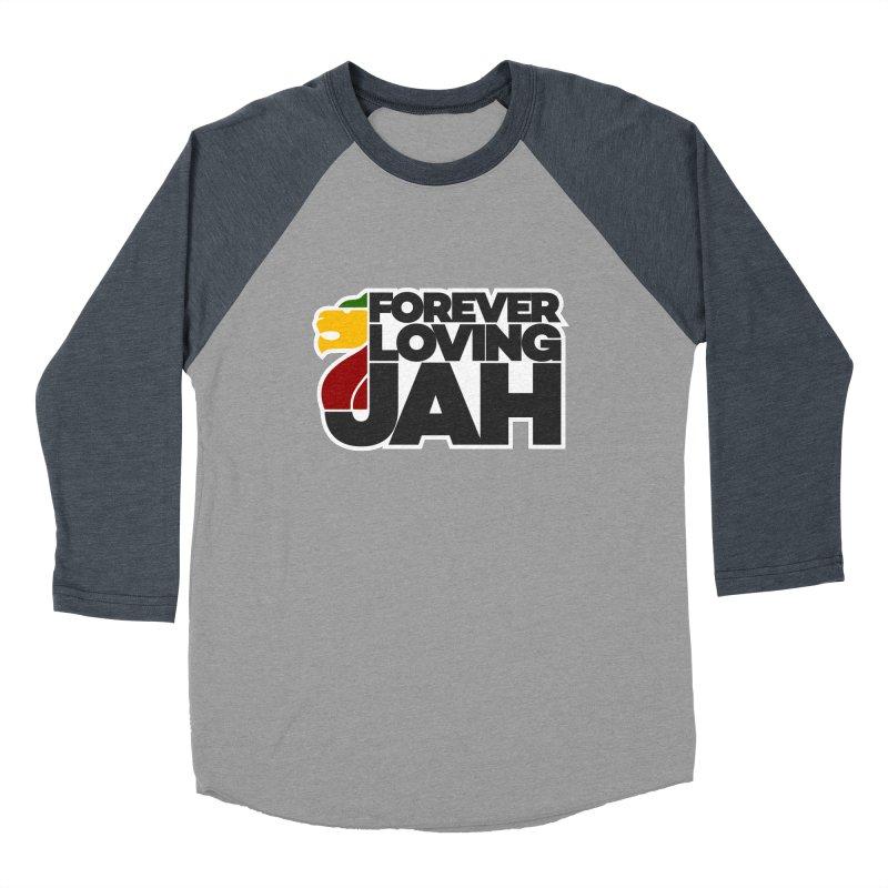Forever Loving Jah Women's Baseball Triblend Longsleeve T-Shirt by Rasta University Shop