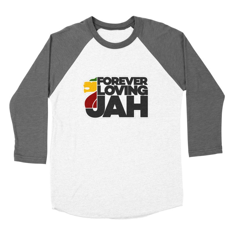 Forever Loving Jah Men's Baseball Triblend Longsleeve T-Shirt by Rasta University Shop