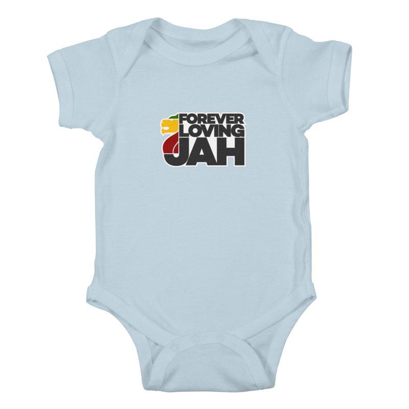 Forever Loving Jah Kids Baby Bodysuit by Rasta University Shop