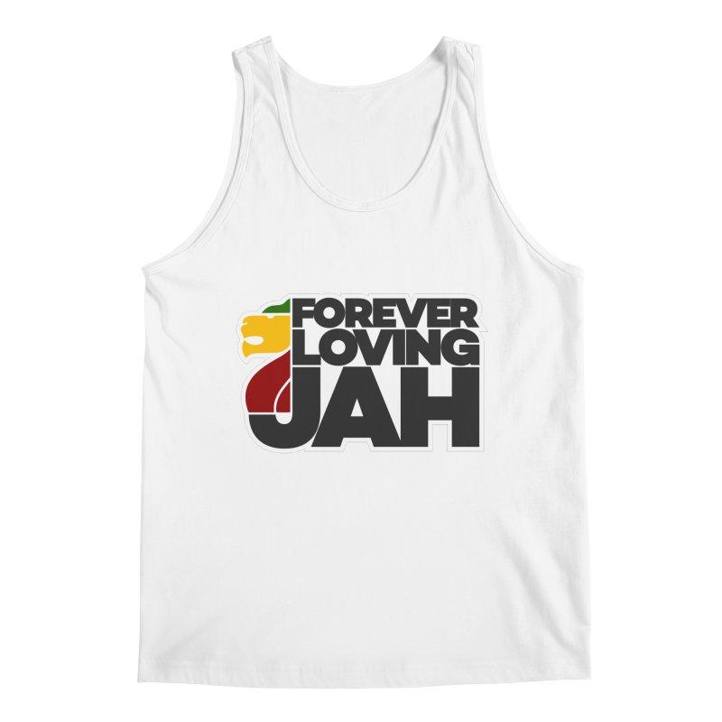 Forever Loving Jah Men's Regular Tank by Rasta University Shop
