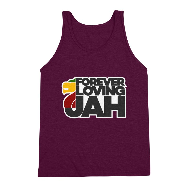 Forever Loving Jah Men's Triblend Tank by Rasta University Shop
