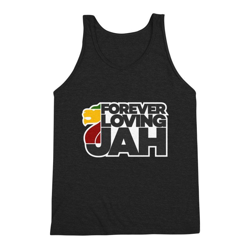 Forever Loving Jah Men's Tank by Rasta University Shop