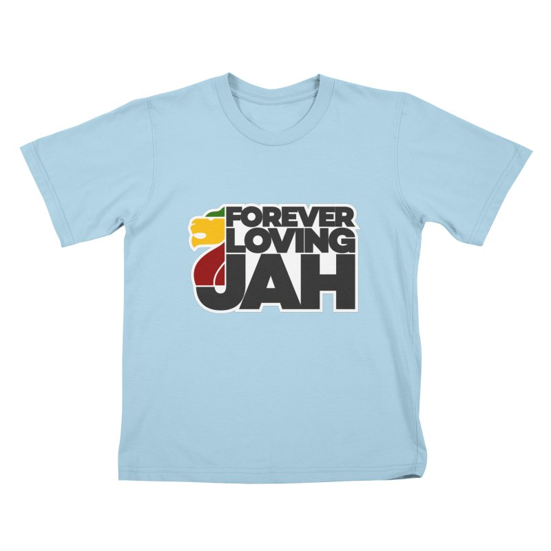Forever Loving Jah Kids T-Shirt by Rasta University Shop