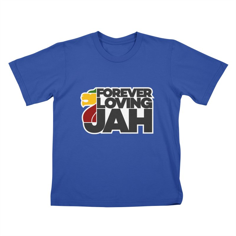 Forever Loving Jah Kids T-Shirt by Rasta University Shop