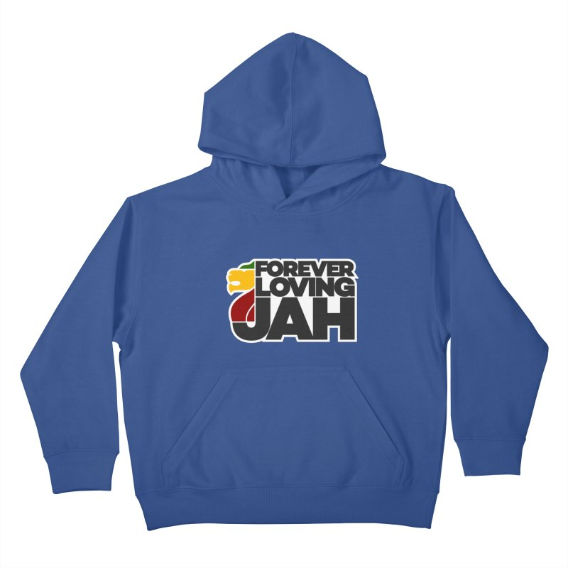 Forever Loving Jah Kids Pullover Hoody by Rasta University Shop