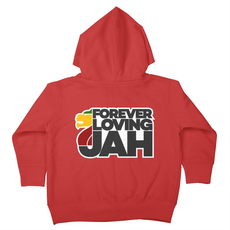 Forever Loving Jah Kids Toddler Zip-Up Hoody by Rasta University Shop