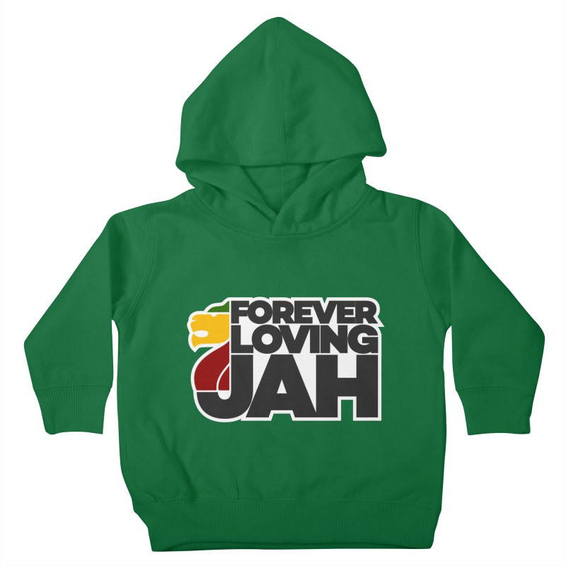 Forever Loving Jah Kids Toddler Pullover Hoody by Rasta University Shop