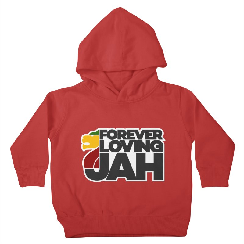 Forever Loving Jah Kids Toddler Pullover Hoody by Rasta University Shop