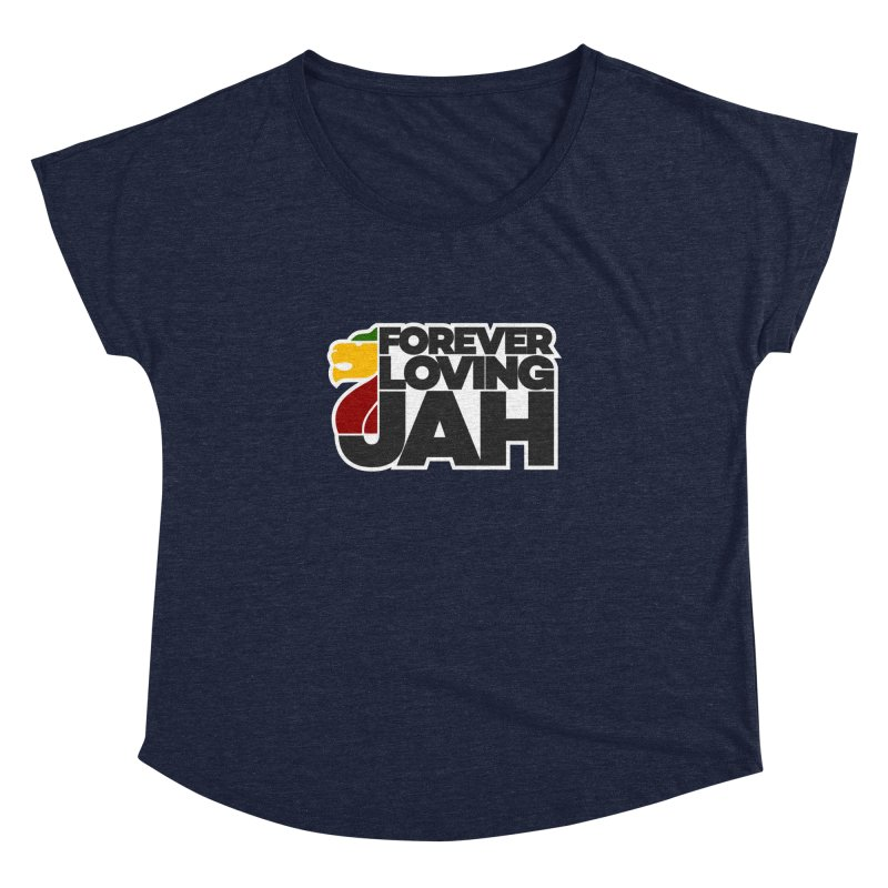 Forever Loving Jah Women's Dolman Scoop Neck by Rasta University Shop