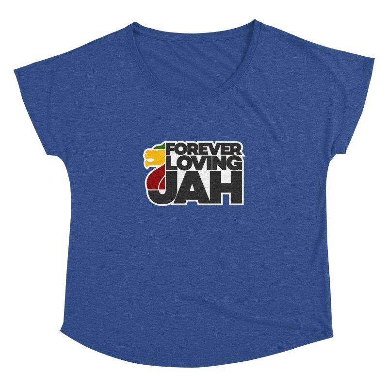 Forever Loving Jah Women's Dolman Scoop Neck by Rasta University Shop