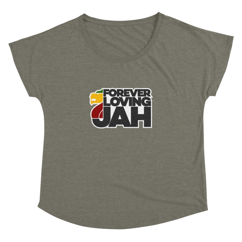 Forever Loving Jah Women's Dolman by Rasta University Shop