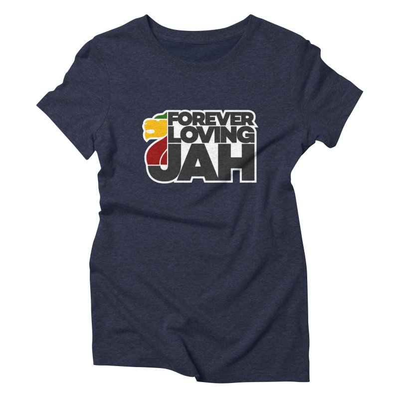 Forever Loving Jah Women's Triblend T-Shirt by Rasta University Shop