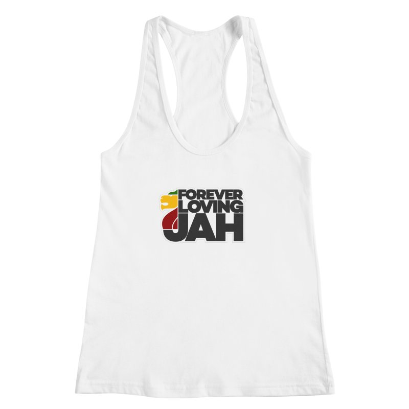 Forever Loving Jah Women's Racerback Tank by Rasta University Shop