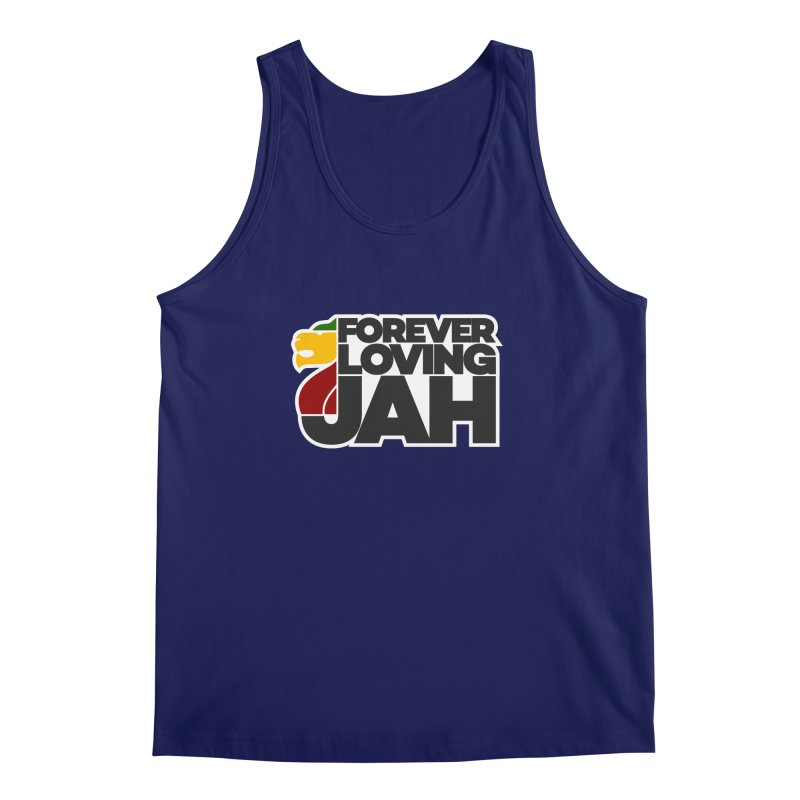 Forever Loving Jah Men's Regular Tank by Rasta University Shop