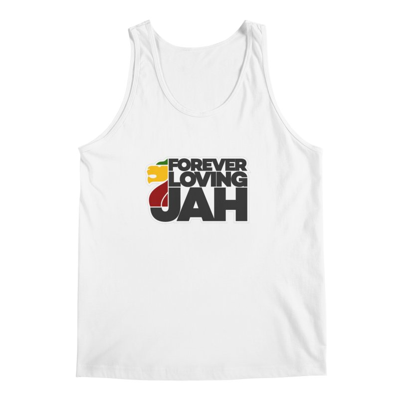 Forever Loving Jah Men's Tank by Rasta University Shop