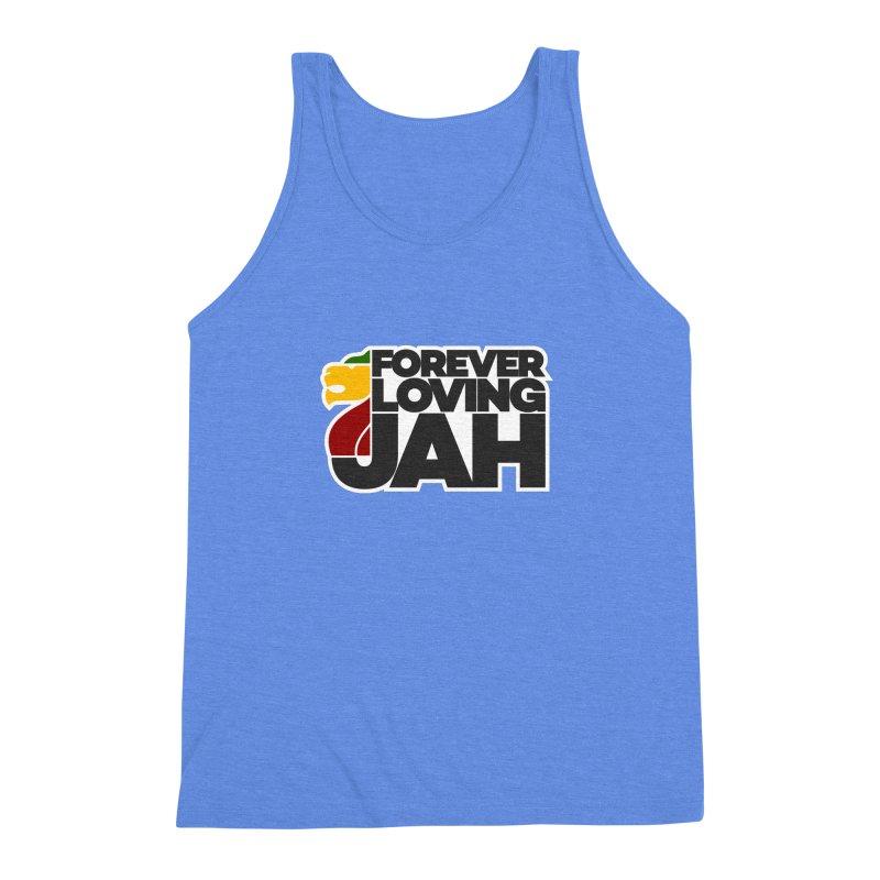 Forever Loving Jah Men's Triblend Tank by Rasta University Shop