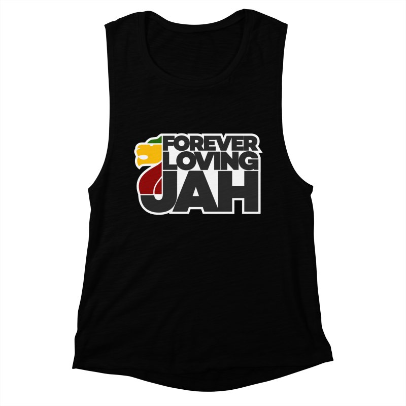 Forever Loving Jah Women's Muscle Tank by Rasta University Shop