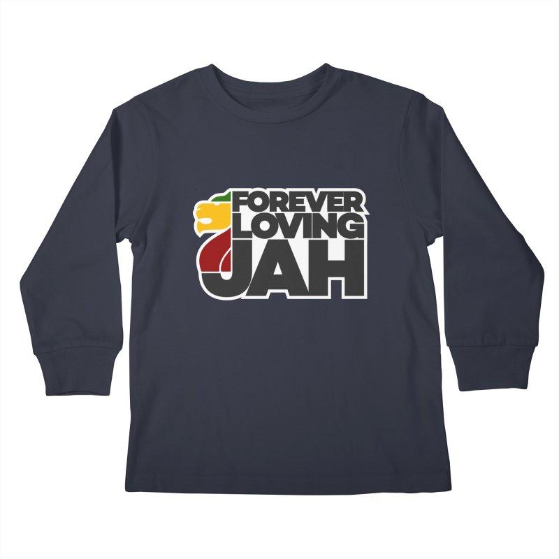 Forever Loving Jah Kids Longsleeve T-Shirt by Rasta University Shop