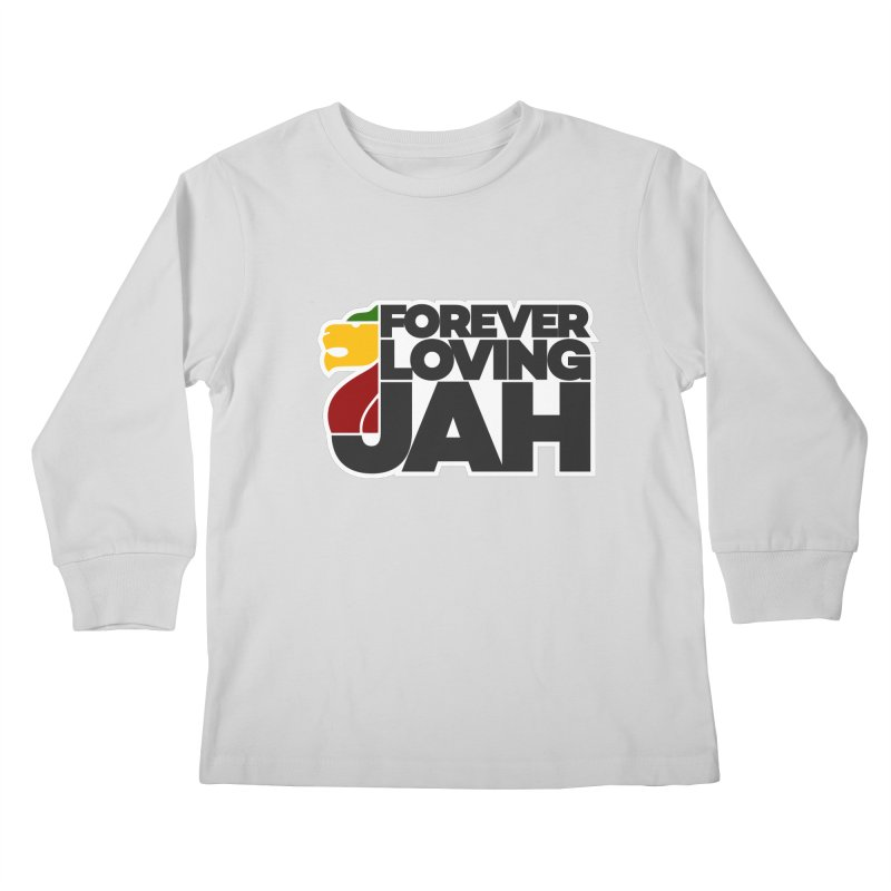 Forever Loving Jah Kids Longsleeve T-Shirt by Rasta University Shop