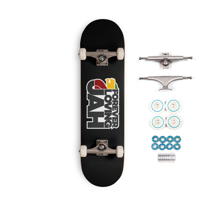 Forever Loving Jah Accessories Complete - Basic Skateboard by Rasta University Shop
