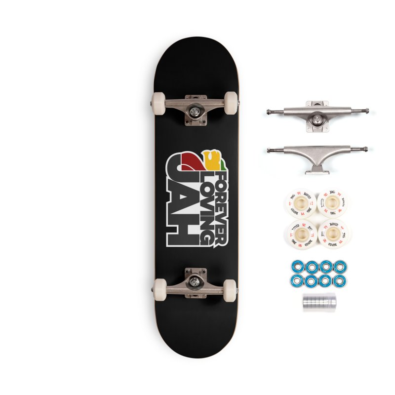 Forever Loving Jah Accessories Complete - Premium Skateboard by Rasta University Shop