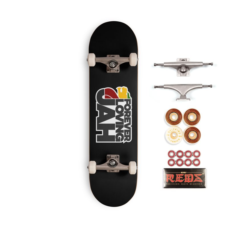 Forever Loving Jah Accessories Skateboard by Rasta University Shop
