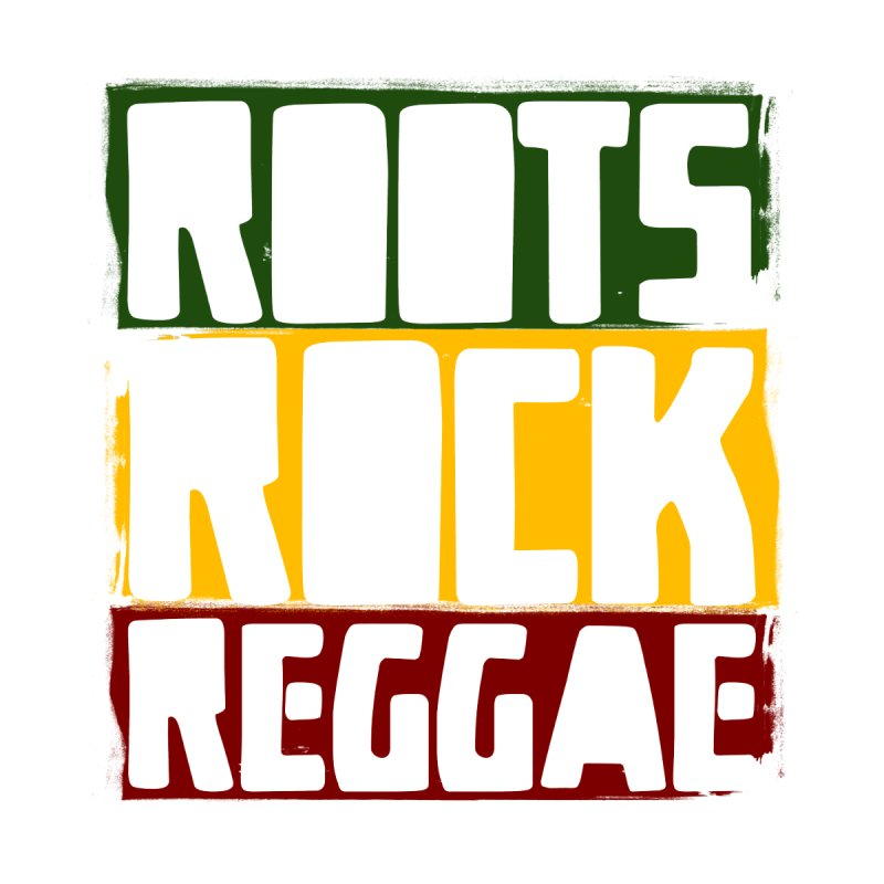 Roots Rock Reggae Men's T-shirt by Rasta University Shop