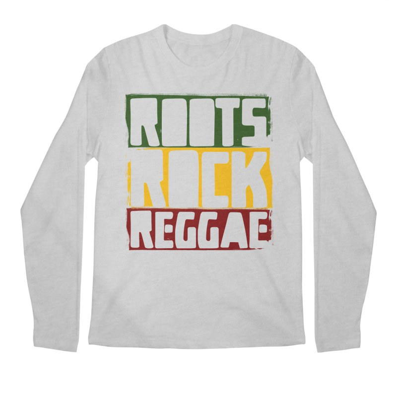 Roots Rock Reggae Men's Regular Longsleeve T-Shirt by Rasta University Shop