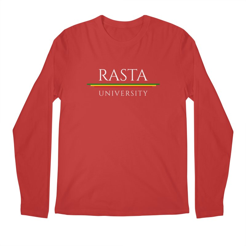 Light Rasta University Logo Men's Regular Longsleeve T-Shirt by Rasta University Shop