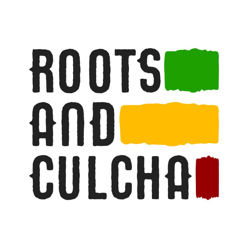 Roots and Culcha (Dark) Home Shower Curtain by Rasta University Shop