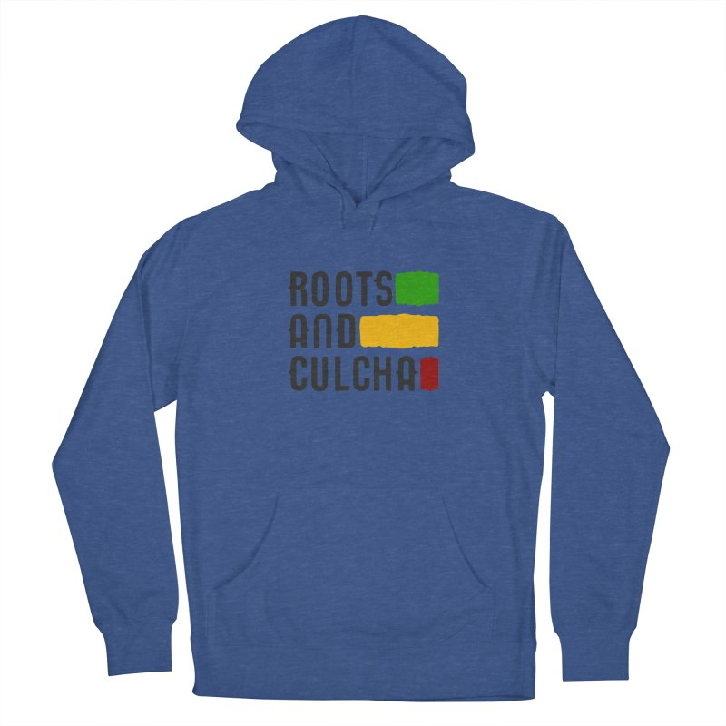 Roots and Culcha (Dark) Women's French Terry Pullover Hoody by Rasta University Shop