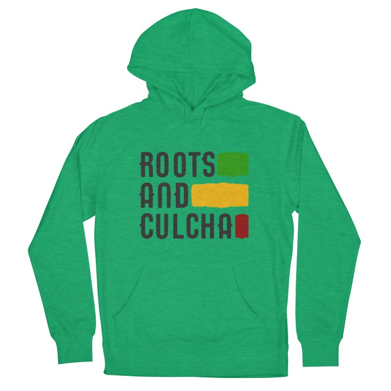 Roots and Culcha (Dark) Women's Pullover Hoody by Rasta University Shop