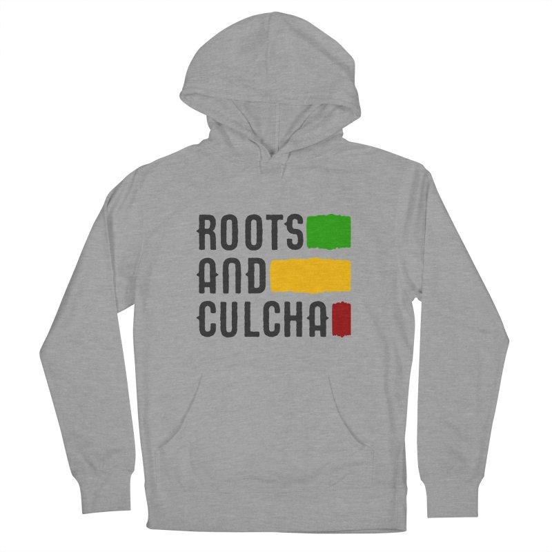 Roots and Culcha (Dark) Women's Pullover Hoody by Rasta University Shop