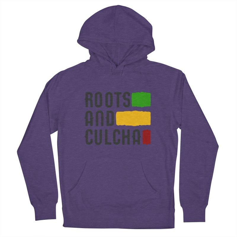 Roots and Culcha (Dark) Men's Pullover Hoody by Rasta University Shop