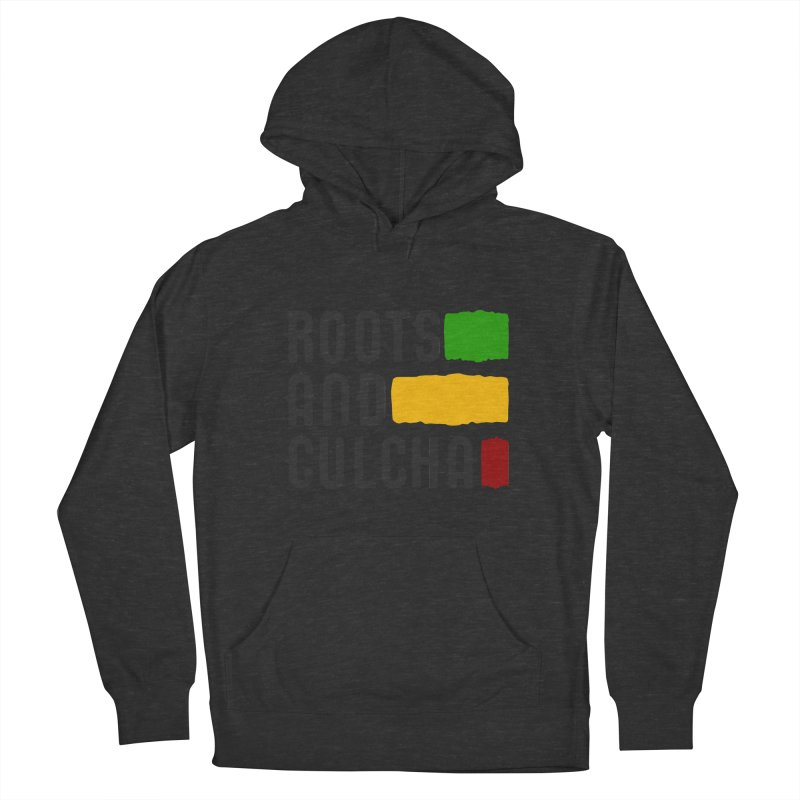 Roots and Culcha (Dark) Men's Pullover Hoody by Rasta University Shop