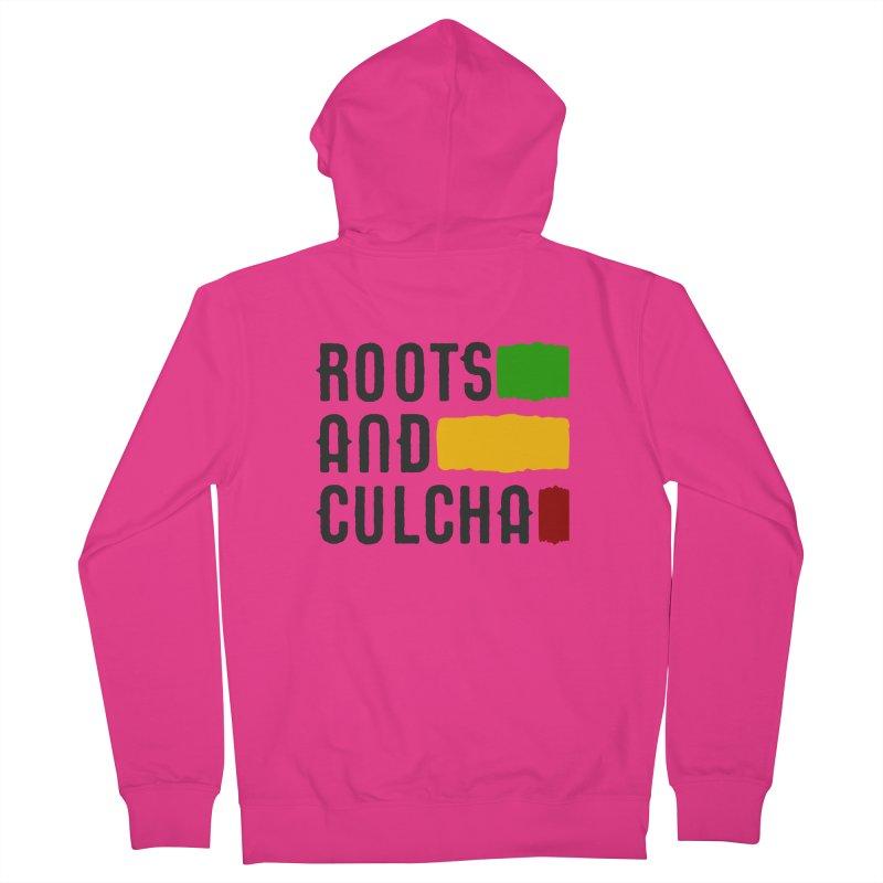 Roots and Culcha (Dark) Men's Zip-Up Hoody by Rasta University Shop