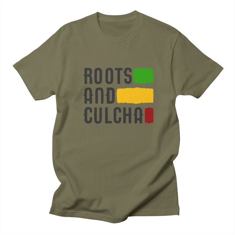 Roots and Culcha (Dark) Women's Regular Unisex T-Shirt by Rasta University Shop