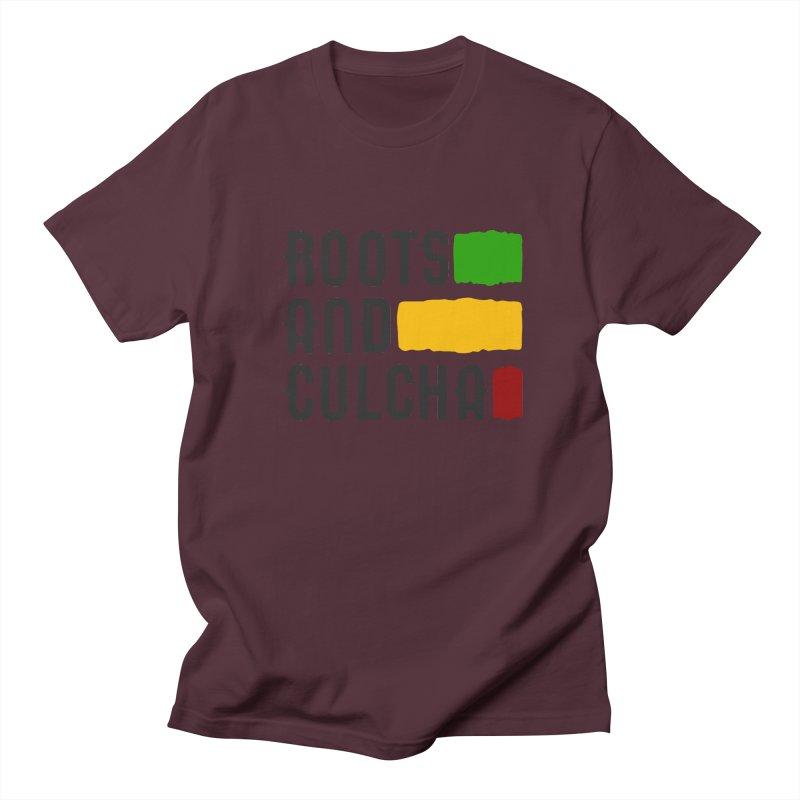 Roots and Culcha (Dark) Women's Regular Unisex T-Shirt by Rasta University Shop
